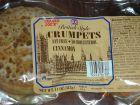 British Style Cinnamon Crumpets