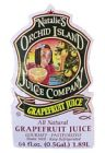 Natalies Orchid Island Fresh Grapefruit Juice