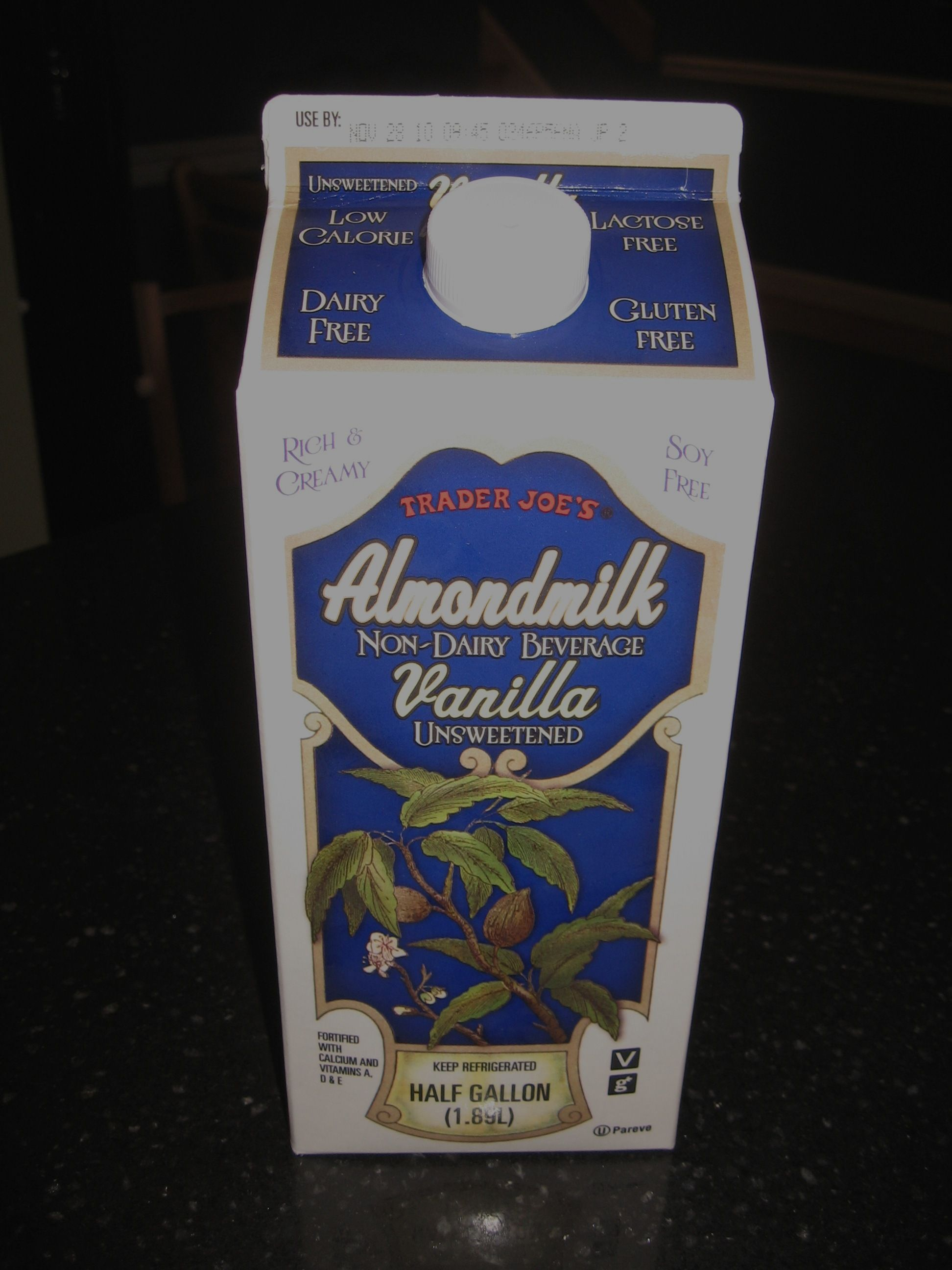 Almond Milk Vanilla Unsweetened