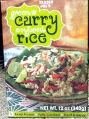 Green Curry Infused Rice