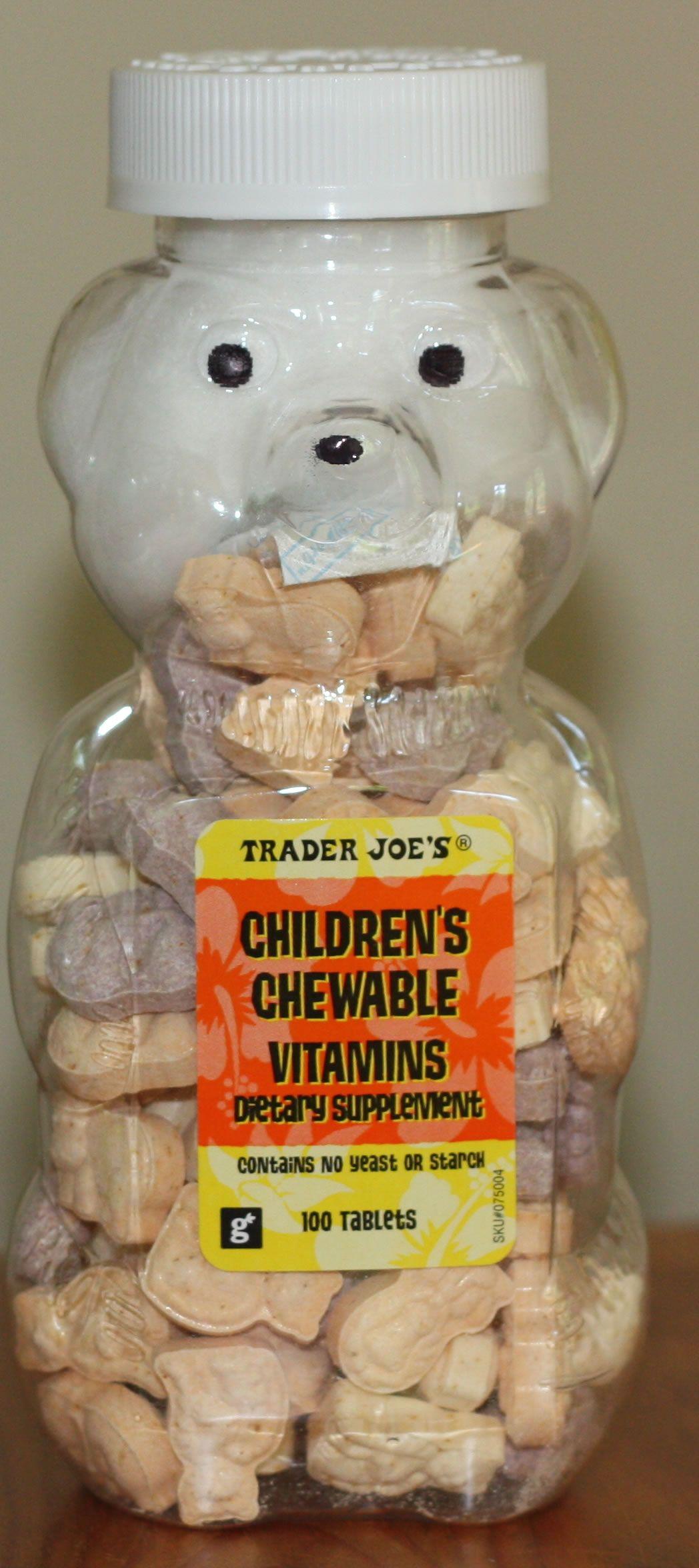 Childrens Chewable Vitamins