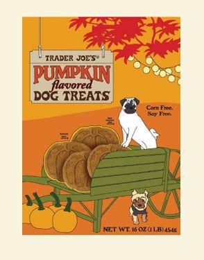 Pumpkin Flavored Dog Treats