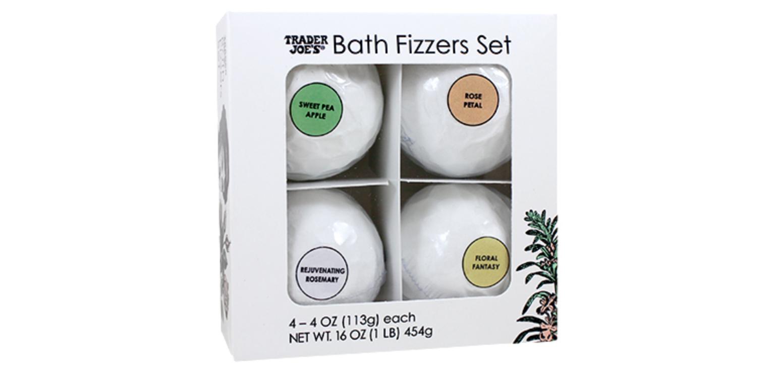 Trader Joes Bath Fizzers Gift Set