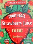 Strawberry Fruit Floes