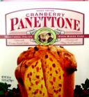 Cranberry Panettone