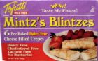 Tofutti Mintzs Blintzes