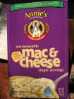 Annies Homegrown Mac and Cheese