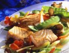 Balsamic Salmon and Veggies