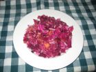 Peachy Red Cabbage Salad