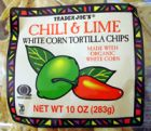 Chili Lime White Corn Tortlla Chips