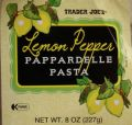Porcini Lemon Pepper Pappardelle