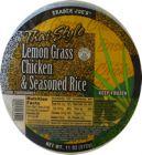 Thai Lemongrass Chicken and Seasoned Rice