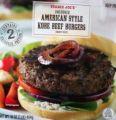 American Style Kobe Beef Burgers